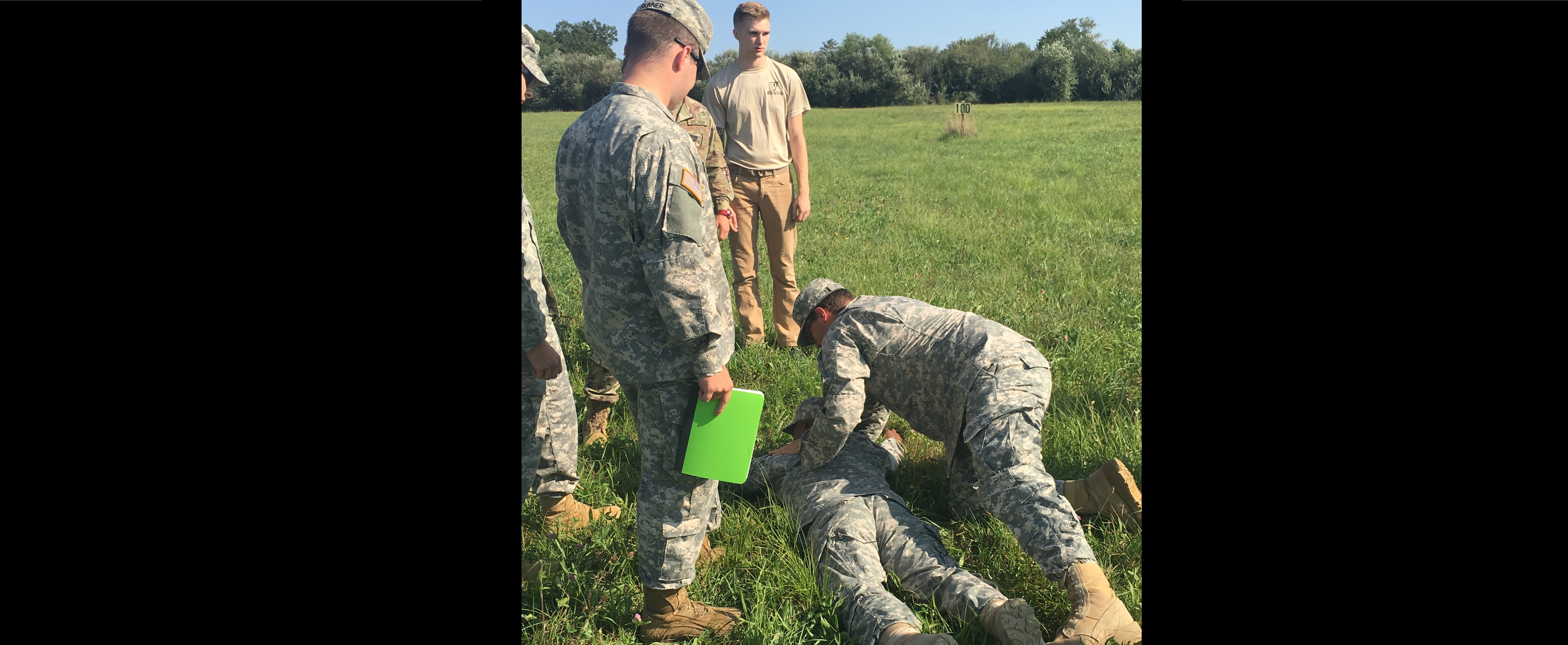 Cadets will all undergo an extensive course on first response and reaction to casualties and various aiding on the battlefield.