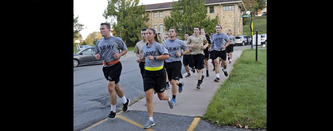 The top priority of UVA-Wise ROTC is to improve cardio performance.